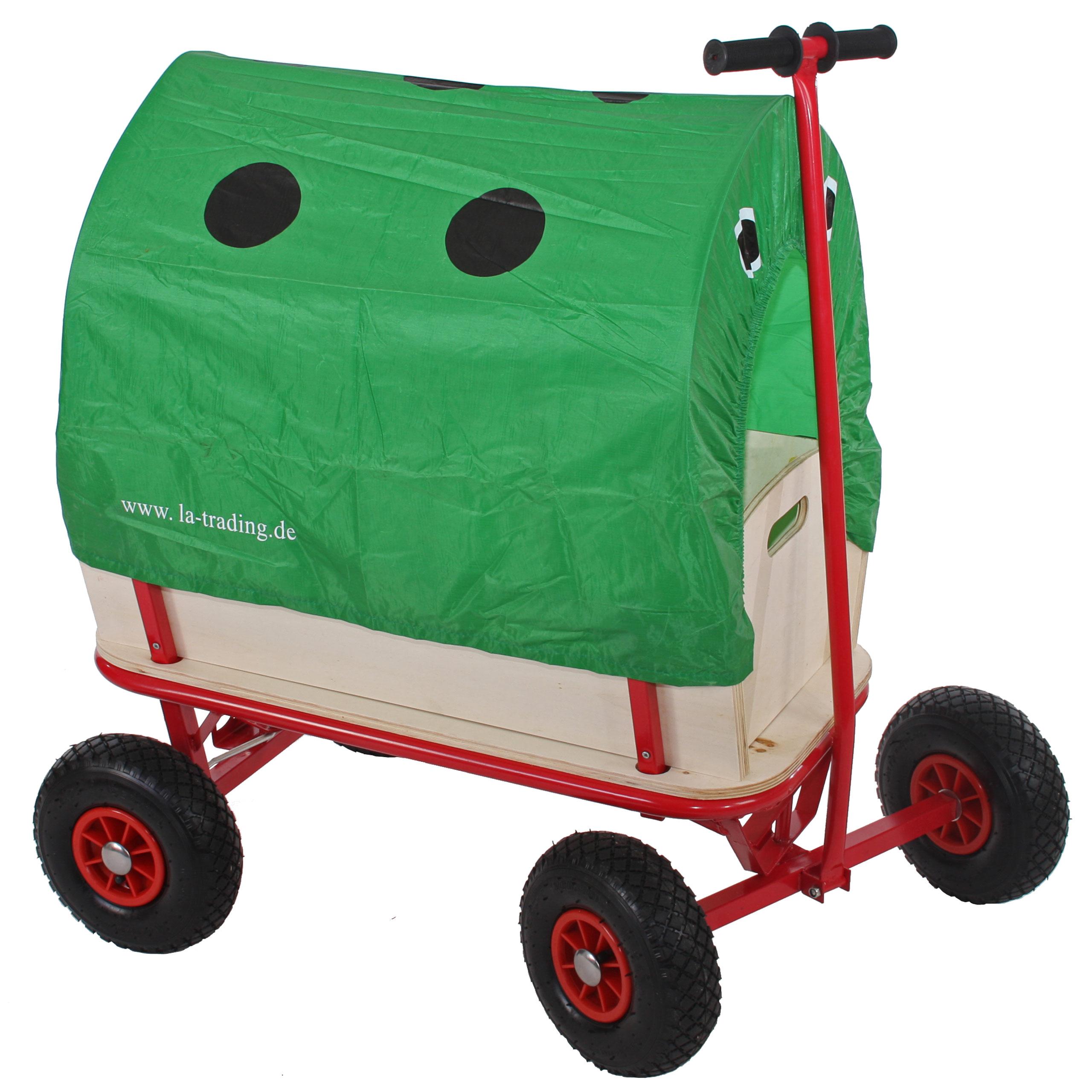 bollerwagen handwagen oliveira optional mit dach motive sitz und bremse ebay. Black Bedroom Furniture Sets. Home Design Ideas