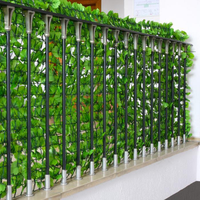 Sichtschutz windschutz verkleidung f r balkon terrasse for Jardin 35m2