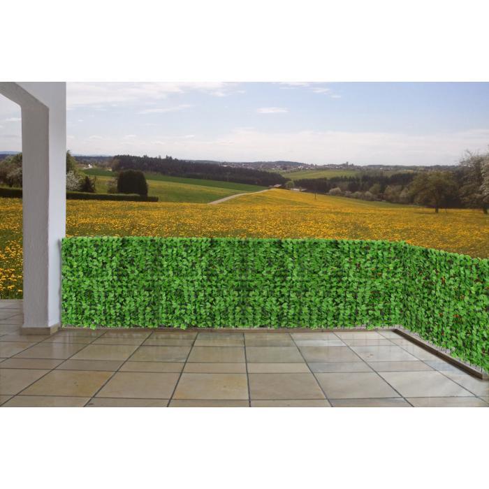 sichtschutz windschutz verkleidung f r balkon terrasse zaun blatt hell 300 x 150 cm. Black Bedroom Furniture Sets. Home Design Ideas
