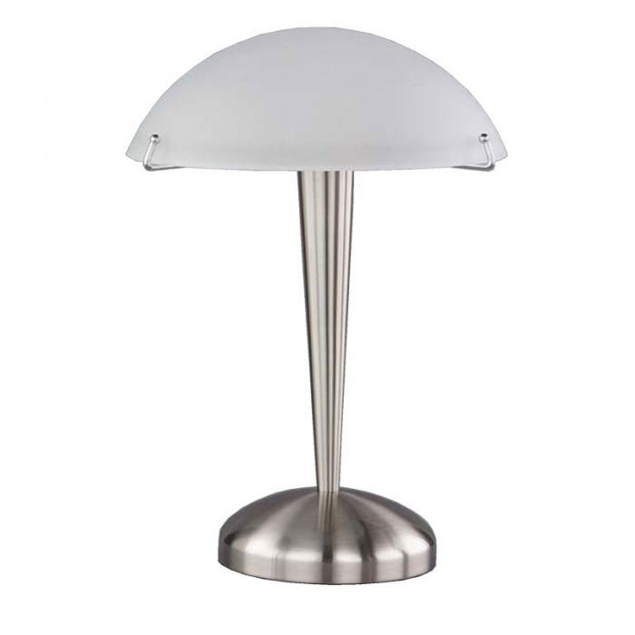 reality trio tischleuchte tischlampe touch me 35cm wei. Black Bedroom Furniture Sets. Home Design Ideas