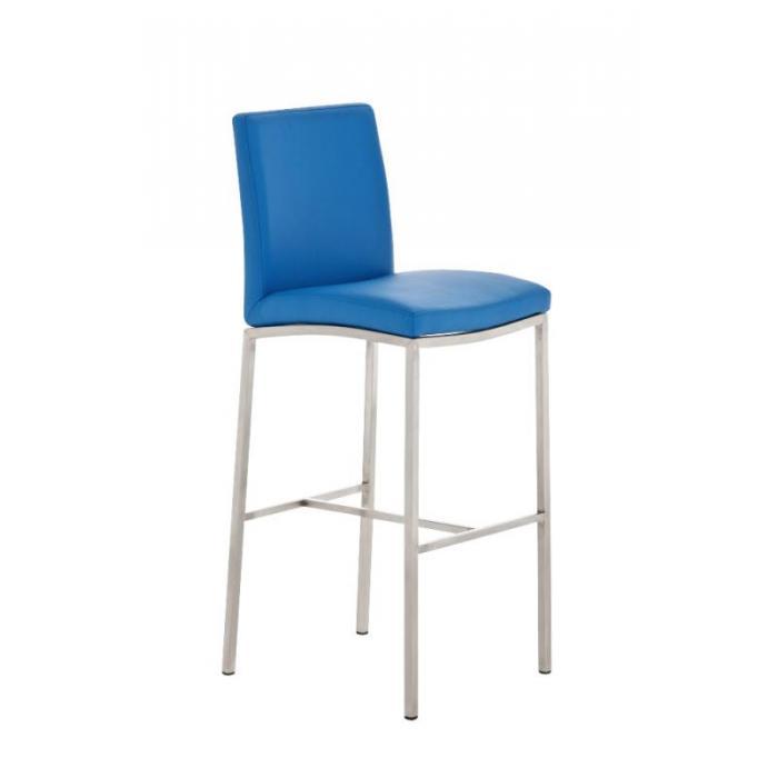 barhocker cp136 barstuhl kunstleder blau. Black Bedroom Furniture Sets. Home Design Ideas
