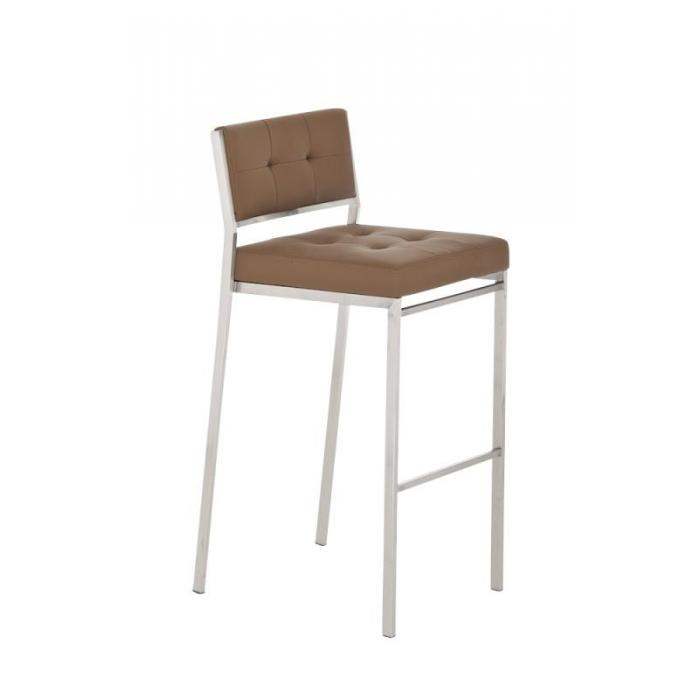 barhocker cp122 barstuhl kunstleder hellbraun. Black Bedroom Furniture Sets. Home Design Ideas