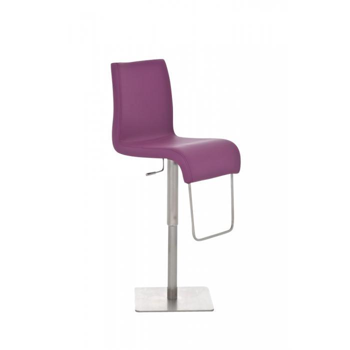 barhocker cp146 barstuhl kunstleder lila. Black Bedroom Furniture Sets. Home Design Ideas