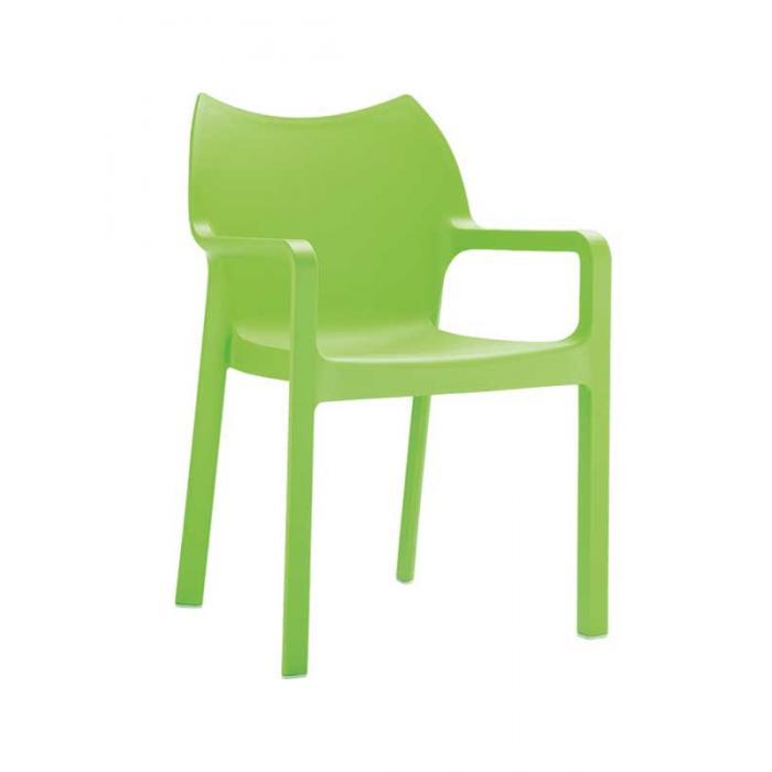 stapelstuhl bistrostuhl gartenstuhl kunststoff c43 gr n. Black Bedroom Furniture Sets. Home Design Ideas