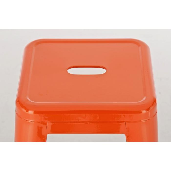 Barhocker cp148 barstuhl metall orange for Barhocker orange