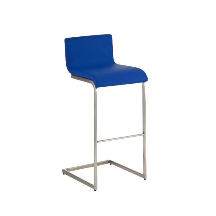 barhocker cp174 barstuhl kunstleder blau. Black Bedroom Furniture Sets. Home Design Ideas