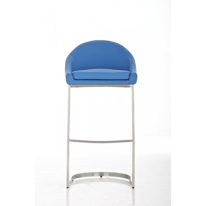 barhocker cp555 barstuhl kunstleder blau. Black Bedroom Furniture Sets. Home Design Ideas