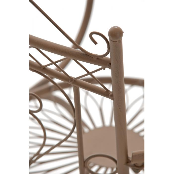 gartenstuhl cp333 bistrostuhl stuhl metall antik braun. Black Bedroom Furniture Sets. Home Design Ideas