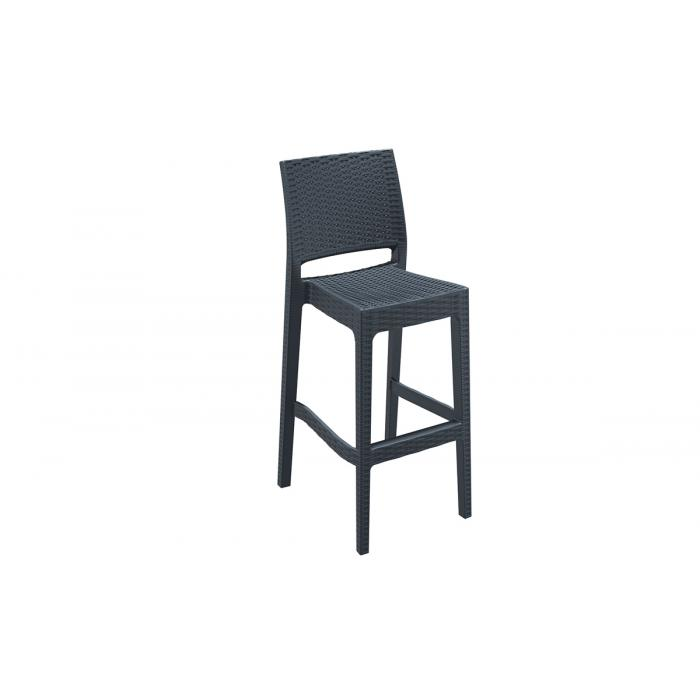barhocker cp235 barstuhl dunkelgrau. Black Bedroom Furniture Sets. Home Design Ideas