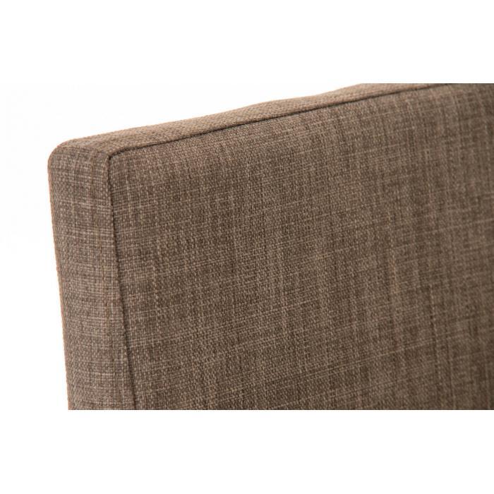 Barhocker cp136 barstuhl textil grau for Barstuhl grau