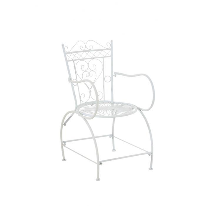 gartenstuhl cp333 bistrostuhl stuhl metall wei. Black Bedroom Furniture Sets. Home Design Ideas