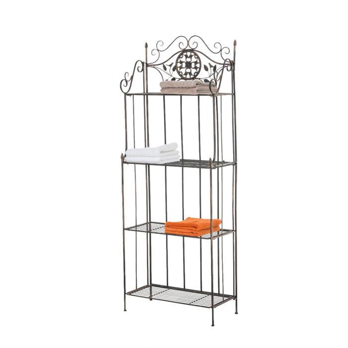 standregal cp378 gartenregal metall 175x66x32cm bronze. Black Bedroom Furniture Sets. Home Design Ideas