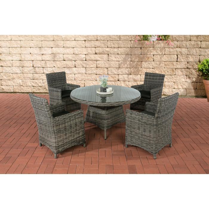 poly rattan sitzgruppe cp413 gartengarnitur lounge set. Black Bedroom Furniture Sets. Home Design Ideas
