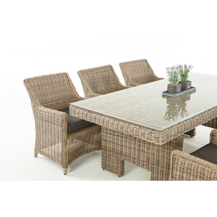 sitzgruppe cp060 sitzgarnitur poly rattan kissen anthrazit natur. Black Bedroom Furniture Sets. Home Design Ideas