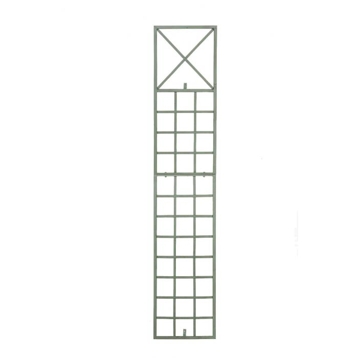 wandrankhilfe cp370 rankhilfe rankgitter eisen 198cm antik gr n. Black Bedroom Furniture Sets. Home Design Ideas