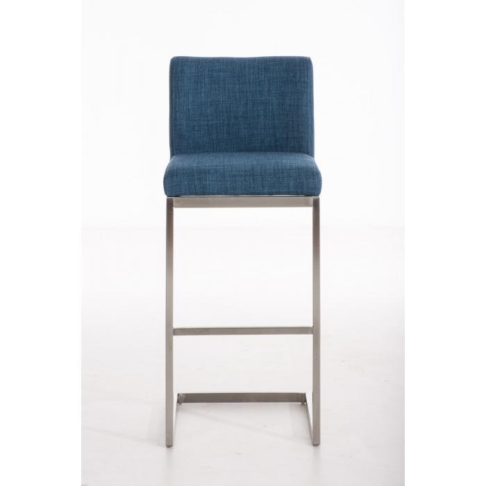 barhocker cp178 barstuhl stoff blau. Black Bedroom Furniture Sets. Home Design Ideas