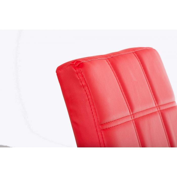 Esszimmerstuhl freischwinger stuhl c03 kunstleder rot for Esszimmerstuhl rot