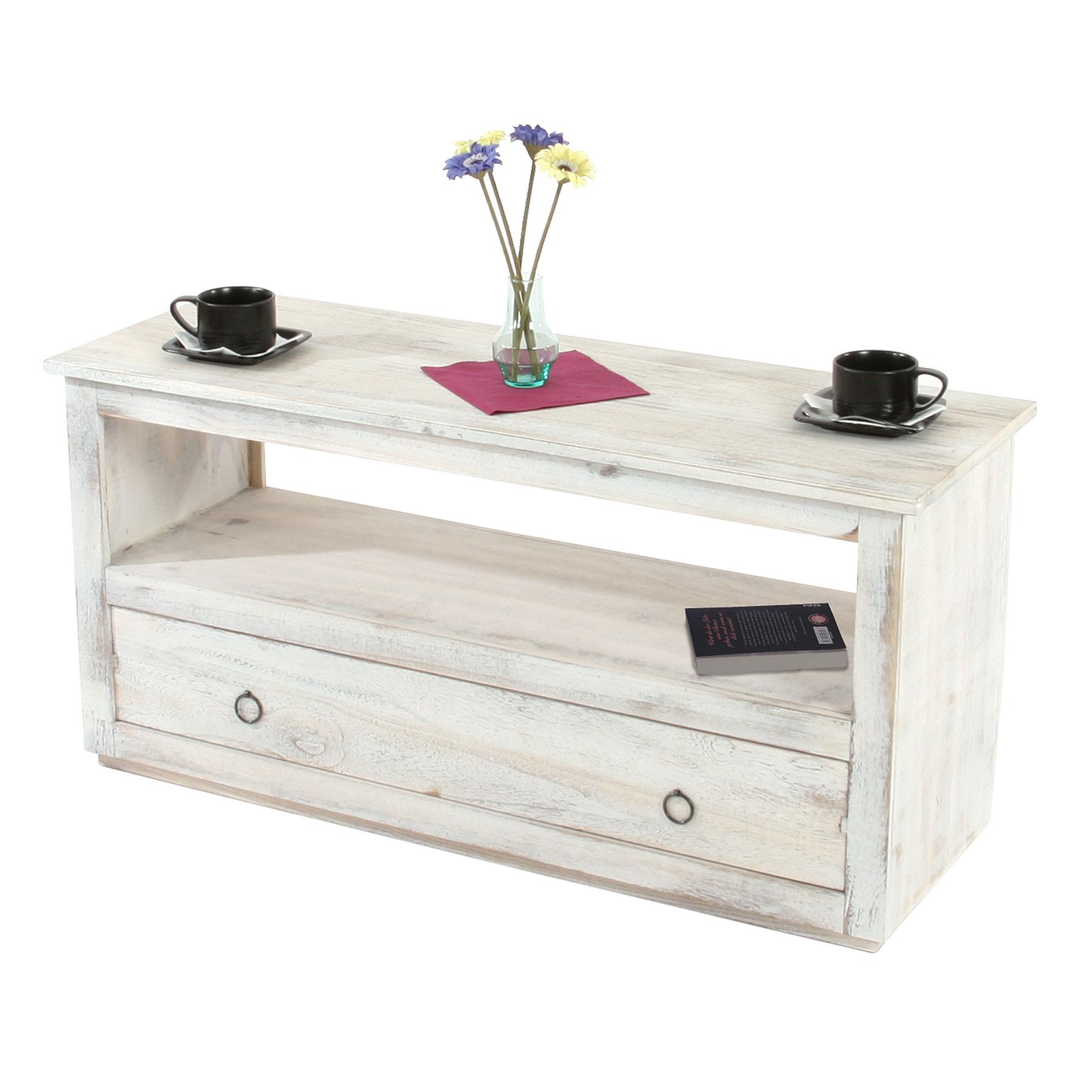 couchtisch wohnzimmertisch beistelltisch shabby look. Black Bedroom Furniture Sets. Home Design Ideas
