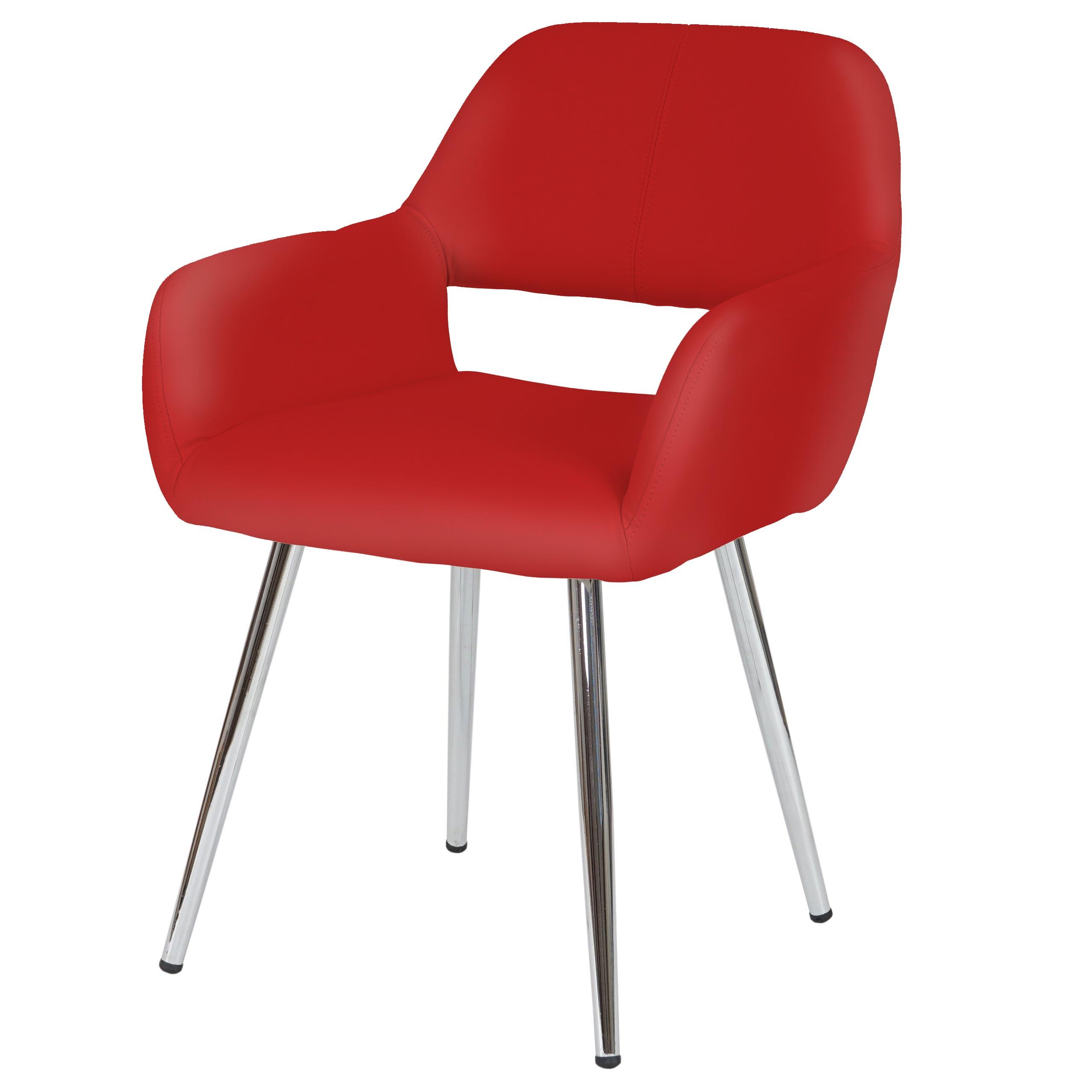 esszimmerstuhl altena stuhl lehnstuhl retro design kunstleder ebay. Black Bedroom Furniture Sets. Home Design Ideas