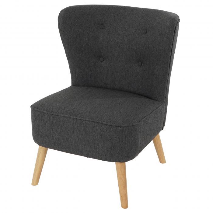 sessel malm t313 loungesessel polstersessel retro 50er jahre design anthrazit textil. Black Bedroom Furniture Sets. Home Design Ideas