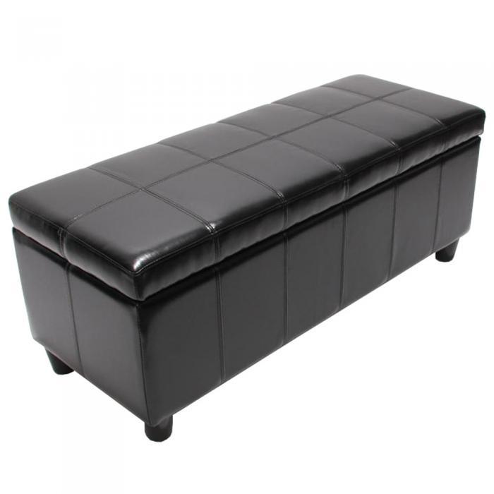 bank sitzbank mit aufbewahrung kriens leder kunstleder. Black Bedroom Furniture Sets. Home Design Ideas