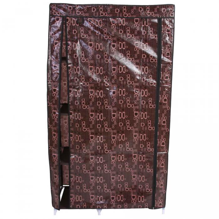 faltschrank campingschrank stoffschrank kleiderschrank 163x89x43cm. Black Bedroom Furniture Sets. Home Design Ideas