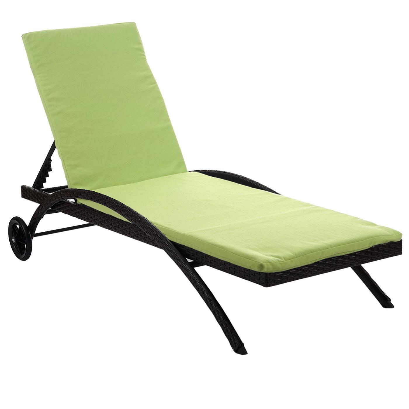 Sonnenliege kastoria relaxliege gartenliege poly rattan for Chaise longue relax jardin