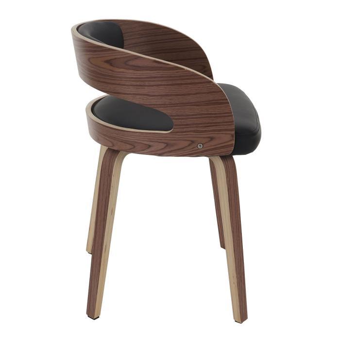Besucherstuhl pula stuhl holz bugholz retro design for Stuhl design holz