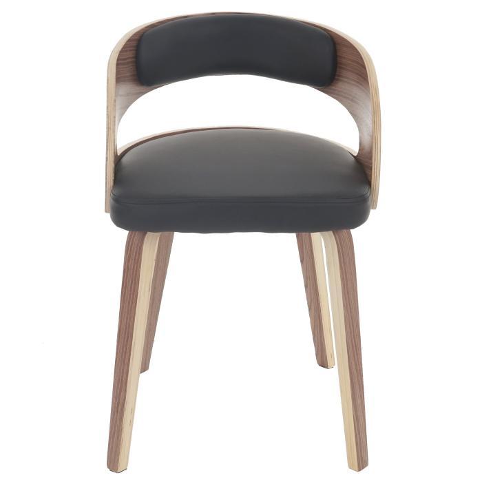 Besucherstuhl Pula Stuhl Holz Bugholz Retro Design