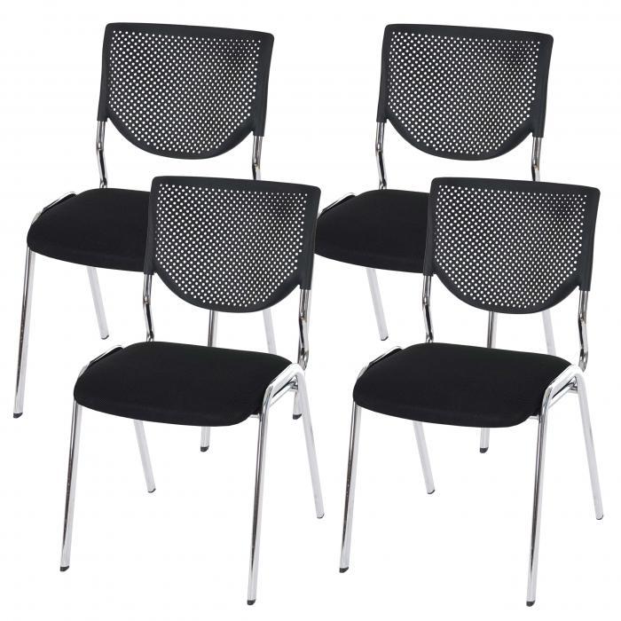 Konferenzstuhl stapelbar  Besucherstuhl T401, Konferenzstuhl stapelbar, Textil ~ Sitz ...