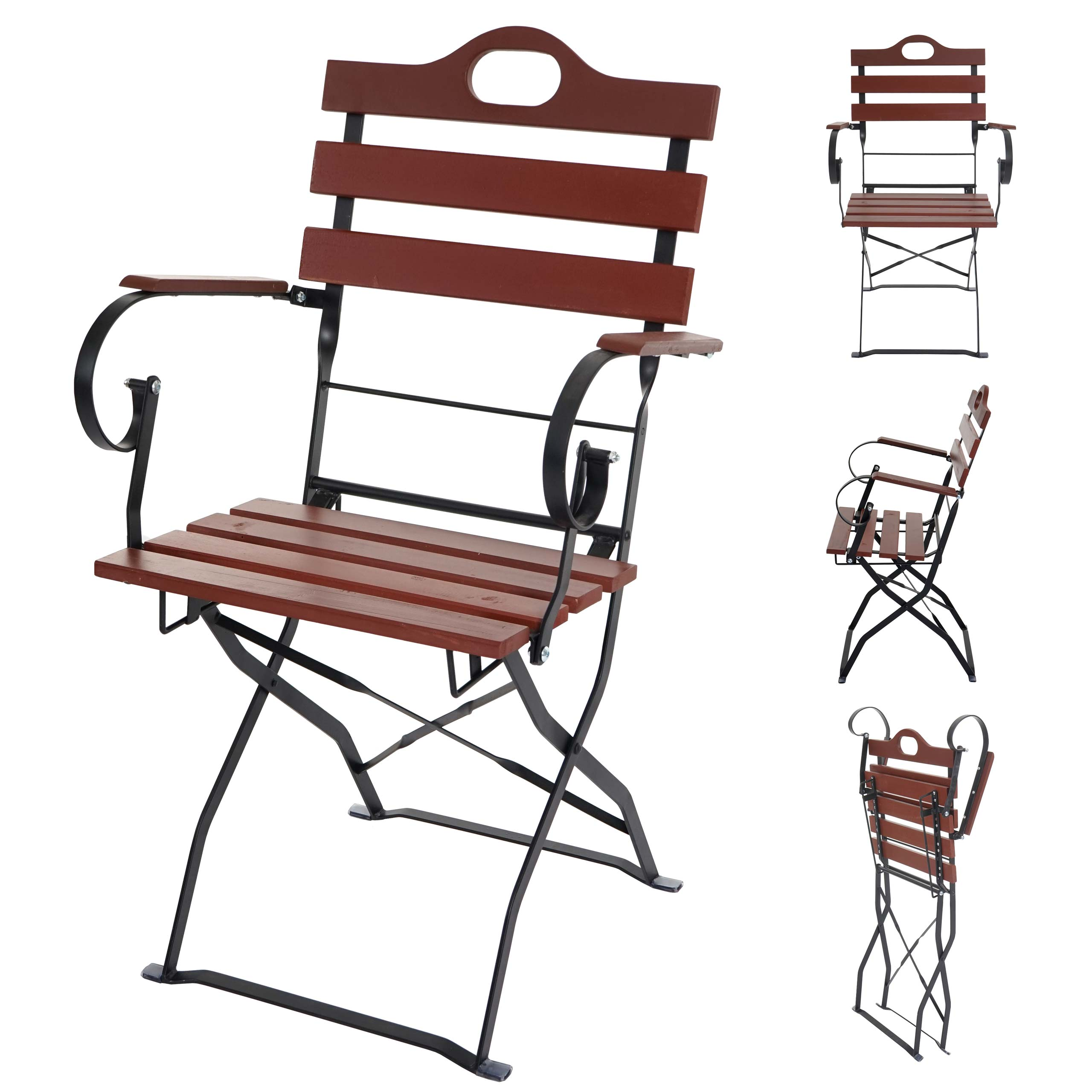 garten garnitur graz bistro set biergarten holz tisch st hle klappbar akazie ebay. Black Bedroom Furniture Sets. Home Design Ideas