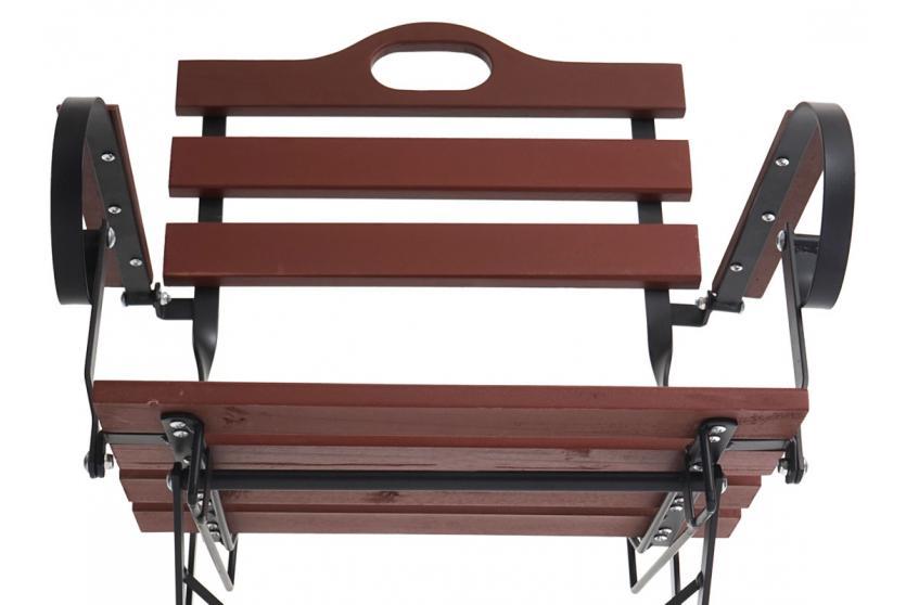 4x biergartenstuhl wien klappstuhl gartenstuhl akazie ge lt braun ebay. Black Bedroom Furniture Sets. Home Design Ideas