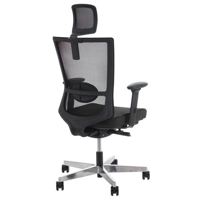 b rostuhl merryfair forte schreibtischstuhl sliding funktion ergonomisch schwarz mit kopfst tze. Black Bedroom Furniture Sets. Home Design Ideas