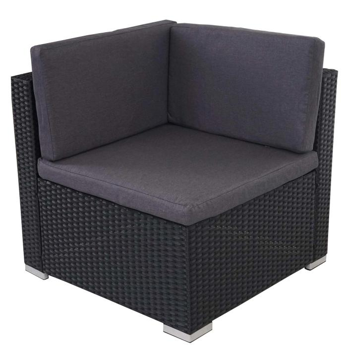poly rattan sofa garnitur rom basic sitzgruppe lounge set. Black Bedroom Furniture Sets. Home Design Ideas