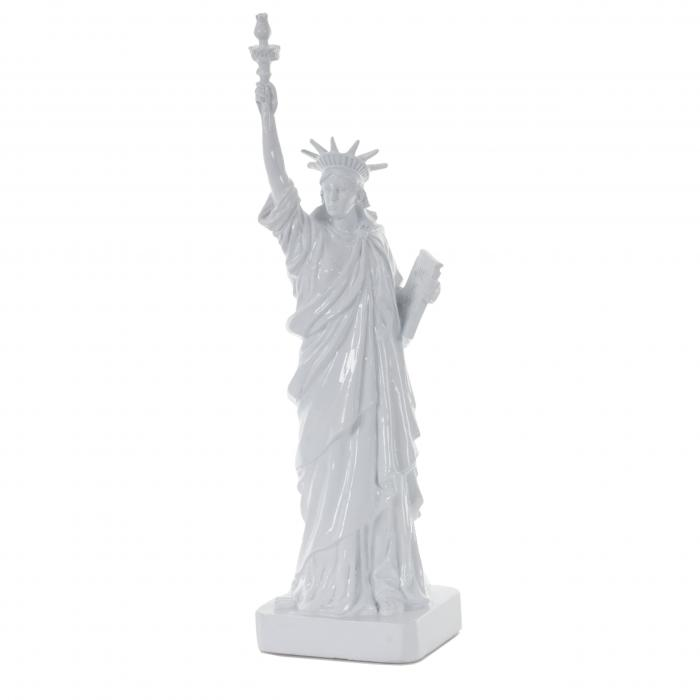 Deko Figur Freiheitsstatue 40cm, Polyresin Skulptur Amerika New York USA, In-/Outdoor