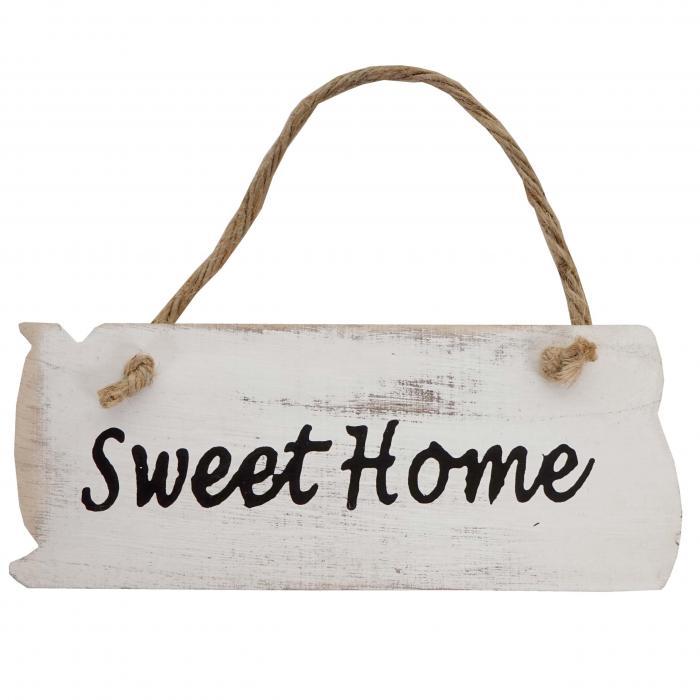 Holzschild Dekoschild Weihnachten Im Shabby Chic Von: Wandschild Sweet Home, Dekoschild Holzschild, Shabby-Look