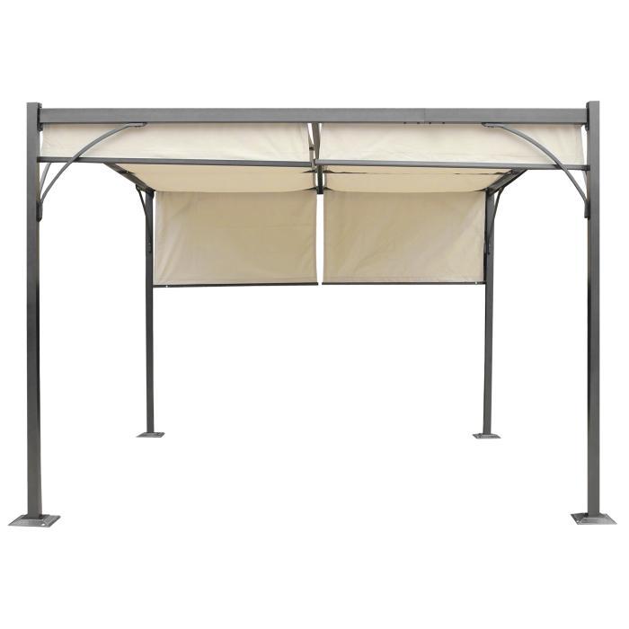 pavillon mit schiebedach bestseller shop. Black Bedroom Furniture Sets. Home Design Ideas