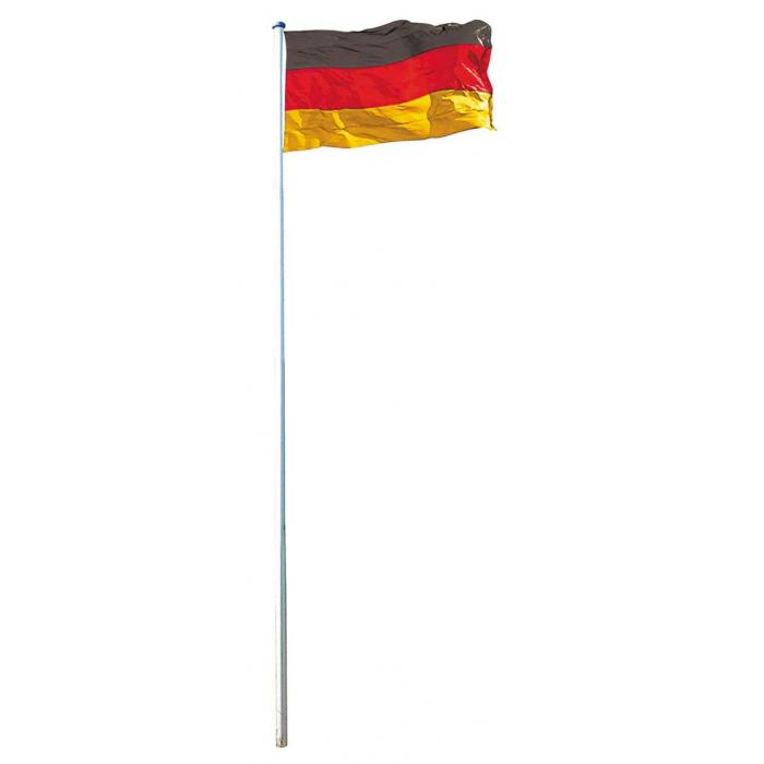 fahnenmast inkl deutschlandfahne fahnenstange mast flagge 6 20m 6 50m. Black Bedroom Furniture Sets. Home Design Ideas