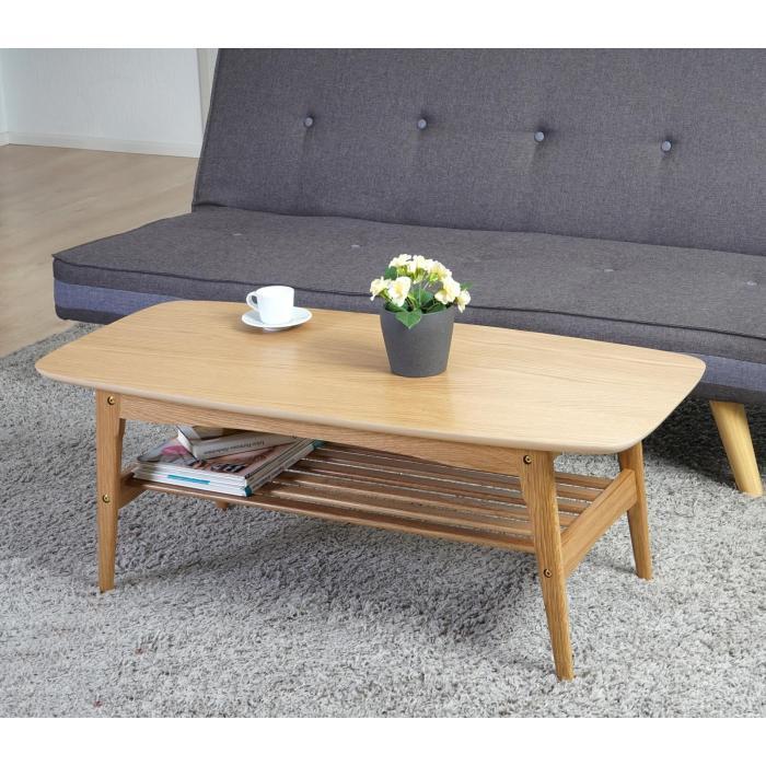 couchtisch bergamo wohnzimmertisch beistelltisch 41x105x50cm eiche. Black Bedroom Furniture Sets. Home Design Ideas