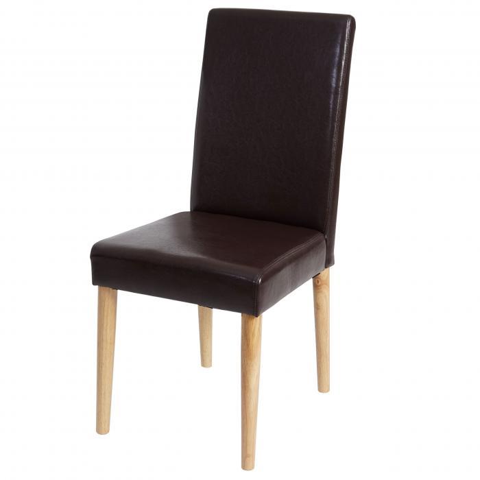 4x esszimmerstuhl leslau stuhl lehnstuhl kunstleder for Stuhl 4 beine