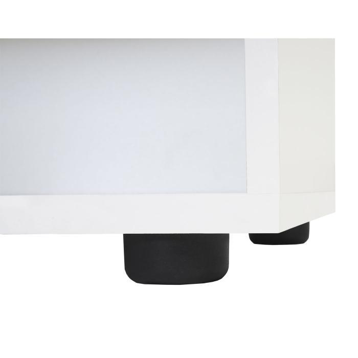 regal cleveland b cherregal ablageregal wei hochglanz. Black Bedroom Furniture Sets. Home Design Ideas