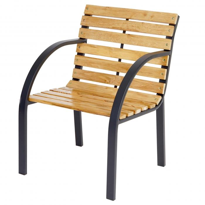gartenstuhl granada ii holzstuhl mit armlehne eucalyptus hartholz 81x56x59cm. Black Bedroom Furniture Sets. Home Design Ideas