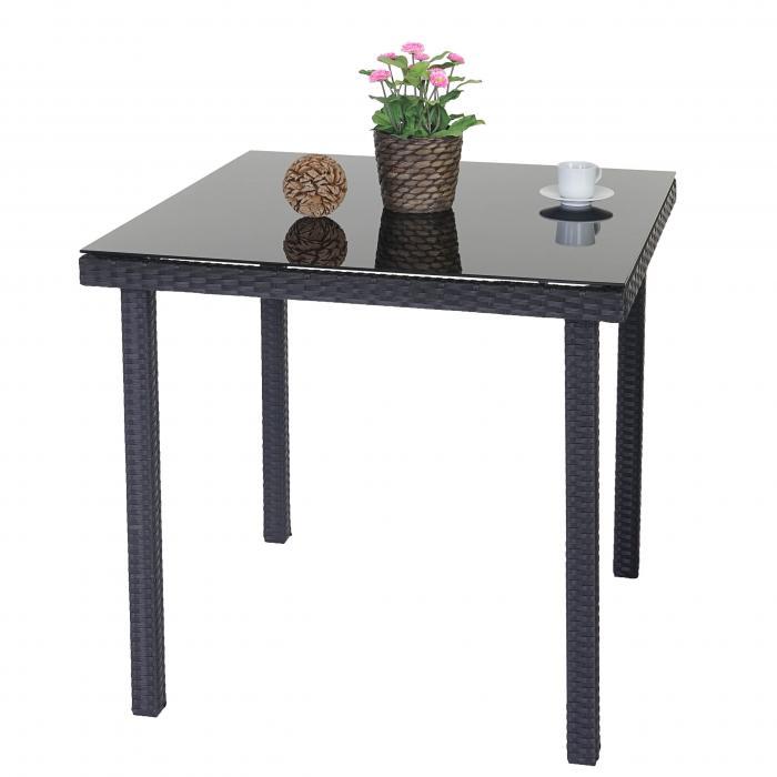 tisch mit glasplatte kreatif von zu hause design ideen. Black Bedroom Furniture Sets. Home Design Ideas
