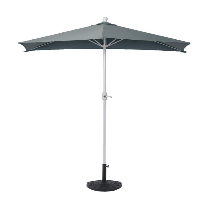 sonnenschirm halbrund parla halbschirm balkonschirm uv 50 polyester stahl 3kg 300cm. Black Bedroom Furniture Sets. Home Design Ideas