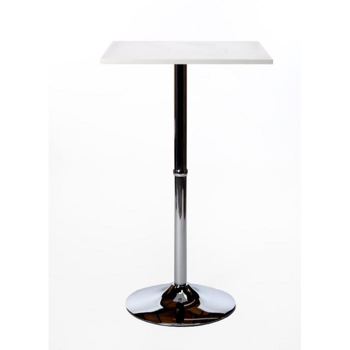 stehtisch eckig wei. Black Bedroom Furniture Sets. Home Design Ideas