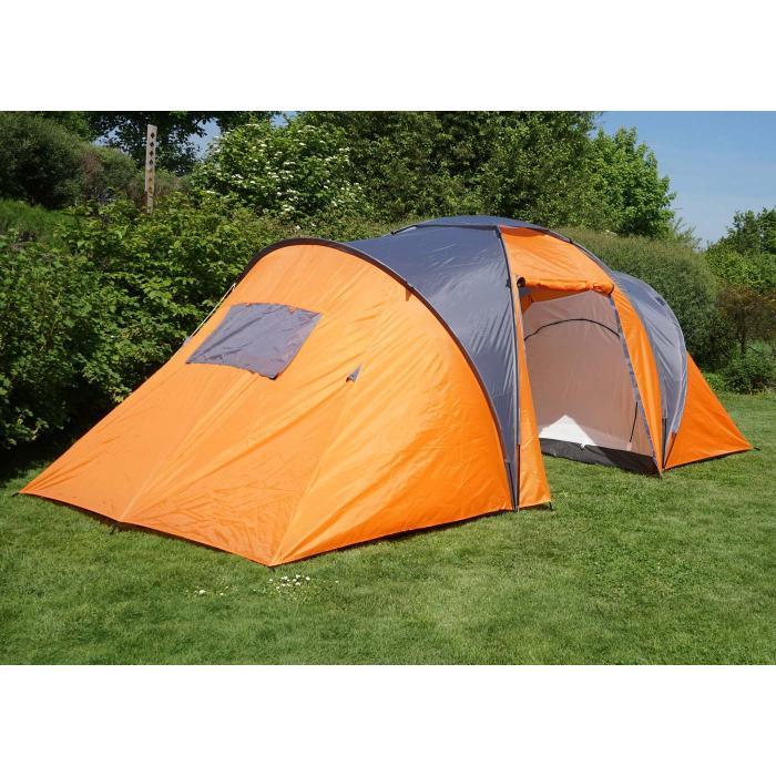 campingzelt loksa 4 mann zelt kuppelzelt igluzelt. Black Bedroom Furniture Sets. Home Design Ideas