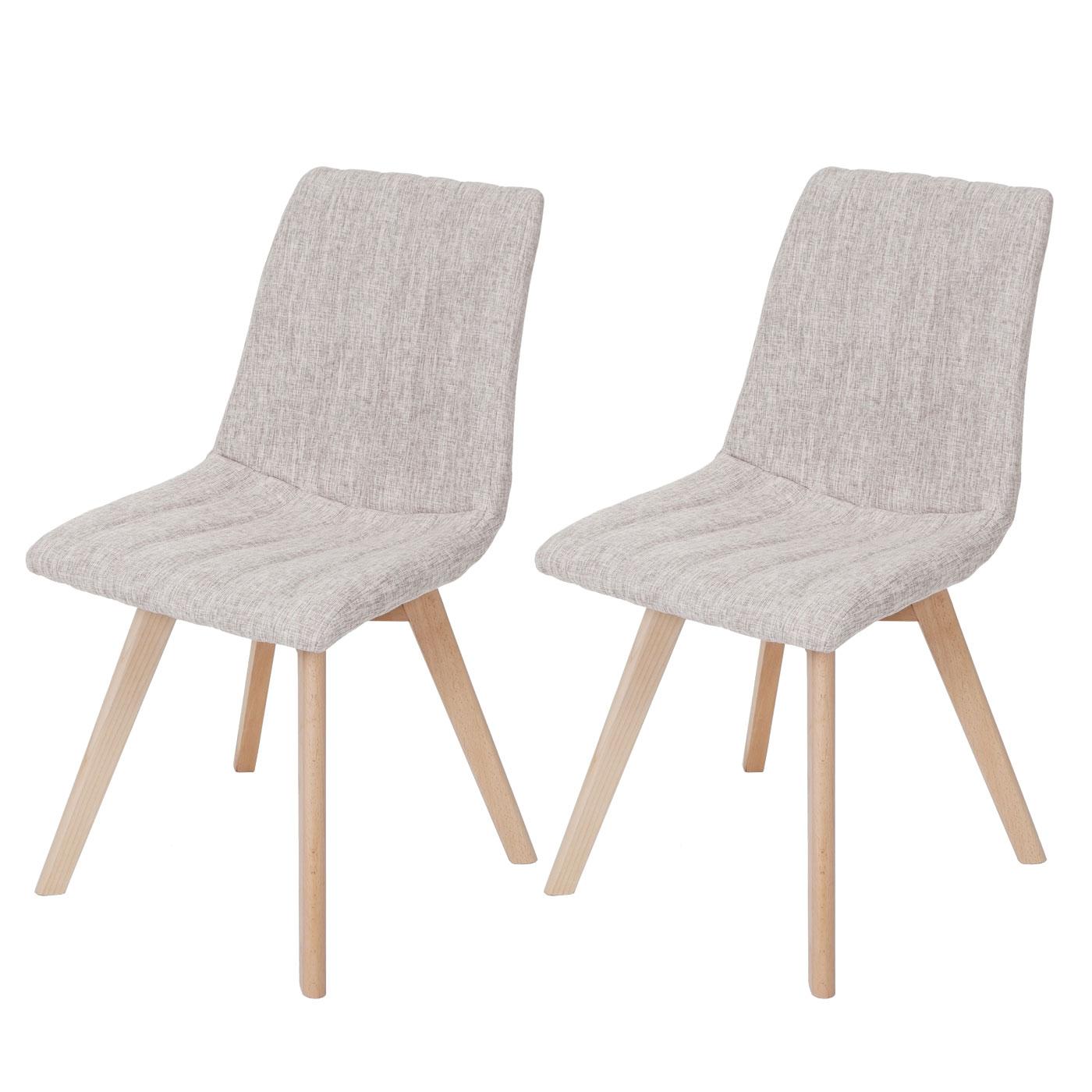 Set 2x sedie sala da pranzo calgary design anni 50 tessuto - Sedie design anni 50 ...
