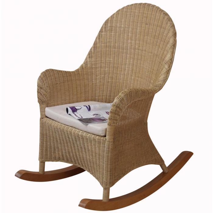 schaukelstuhl h149 schwingsessel relaxsessel rattan inkl sitzkissen 106x66x99cm. Black Bedroom Furniture Sets. Home Design Ideas