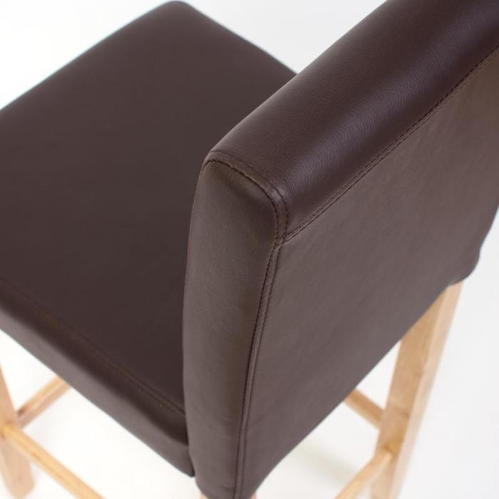 2x barhocker barstuhl m37 leder braun helle f e. Black Bedroom Furniture Sets. Home Design Ideas