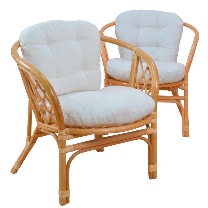 2x rattansessel h135 korbsessel sessel mit sitzkissen. Black Bedroom Furniture Sets. Home Design Ideas